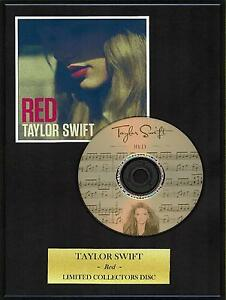 TAYLOR SWIFT - Framed Collectors Display