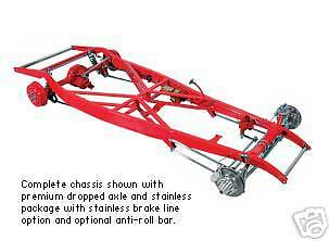 TCI 1932 32 Ford Street Hot Rod Frame Chassis Complete