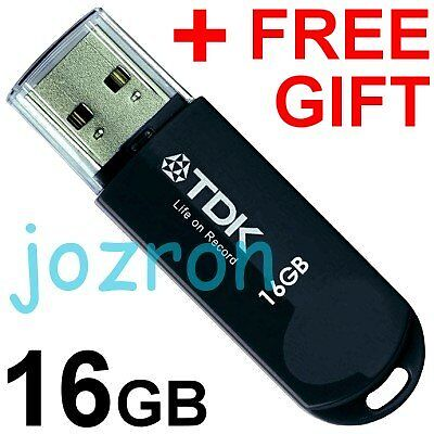 TDK Trans-It Mini 16GB 16G USB Flash Pen Drive Thumb Disk Memory Glossy Black in Computers/Tablets & Networking, Drives, Storage & Blank Media, USB Flash Drives | eBay