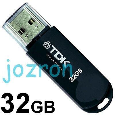 TDK Trans-It Mini 32GB 32G USB Flash Pen Drive Thumb Disk Memory Glossy Black in Computers/Tablets & Networking, Drives, Storage & Blank Media, USB Flash Drives | eBay