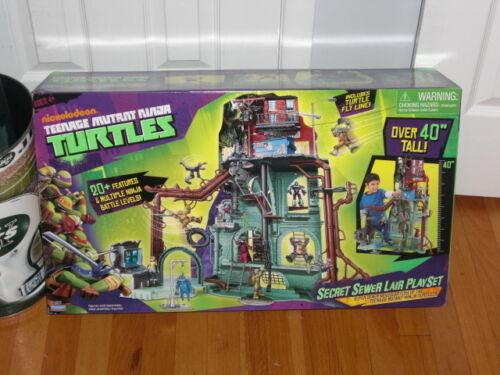 TEENAGE MUTANT NINJA TURTLES SECRET SEWER LAIR PLAY SET in Toys & Hobbies, Action Figures, TV, Movie & Video Games | eBay