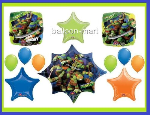 TEENAGE MUTANT NINJA TURTLES birthday party supplies decorations BALLOONS Boys in Home & Garden, Holidays, Cards & Party Supply, Party Supplies | eBay