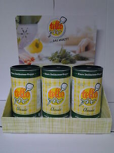 TELLO-FIX-Klare-Delikatess-Suppe-Classic-3-x-900g-Rahm-Sauce-Gratis
