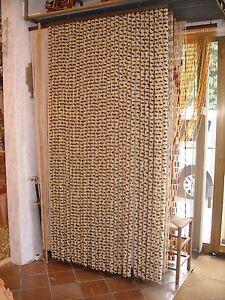 Tenda separatrice per porta a fili su misura in ciniglia - Tende porta esterno ...