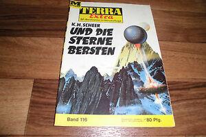 TERRA-EXTRA-116-und-die-STERNE-BERSTEN-von-K-H-Scheer-1966