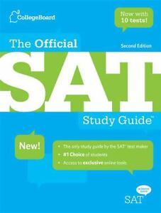 *NEW!* The Official SAT Study Guide, 2nd edition (without tests) by The College Board (PDF)