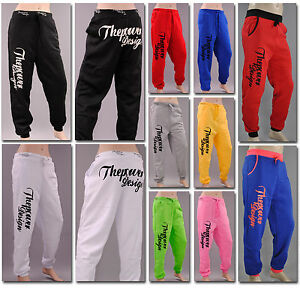THE-POWER-SPORTHOSE-Unisex-Jogginghose-Fleece-Fitness-Training-Sport-Hose-Tanzen