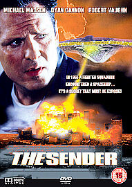 THE-SENDER-DVD-Michael-Madsen-Robert-Vaughn-Dyan-Cannon-R-Lee-Ermey