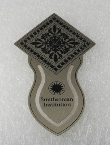 THE SMITHSONIAN INSTITUTION PATENT OFFICE SILVER PLATED BRASS BOOKMARK NWOT in Books, Accessories, Bookmarks | eBay