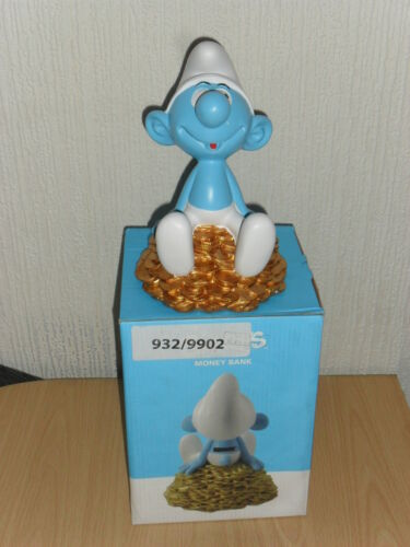 THE SMURFS MONEY BOX - PIGGY BANK - BIRTHDAY PRESENT - GIFT - BNIB in Collectibles, Banks, Registers & Vending, Still, Piggy Banks | eBay