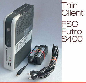THINCLIENT-FSC-FUTRO-S400-512-MB-RAM-512-MB-CF-KARTE-RS-232-FLASH-CARD-12V-STROM