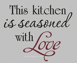 Vinyl Wall Decal Kitchen Quote Moms - kootation.