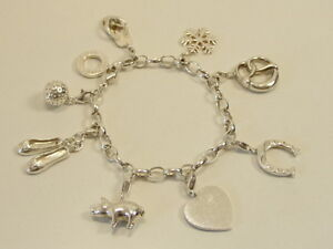 thomas sabo charm armband anh nger ts bettelarmband 925 silber bracelet silver ebay. Black Bedroom Furniture Sets. Home Design Ideas
