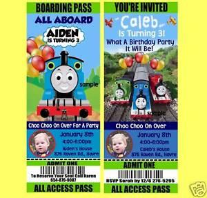 Thomas The Train Invites was perfect invitations layout
