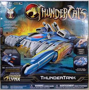 Thunder Cats Cartoon on Thundertank With Snarf Thundercats Cartoon Vehicle Figure Bandai 2011