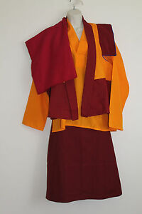 Shaolin Monk Robe - Orange - Large | Bizrate