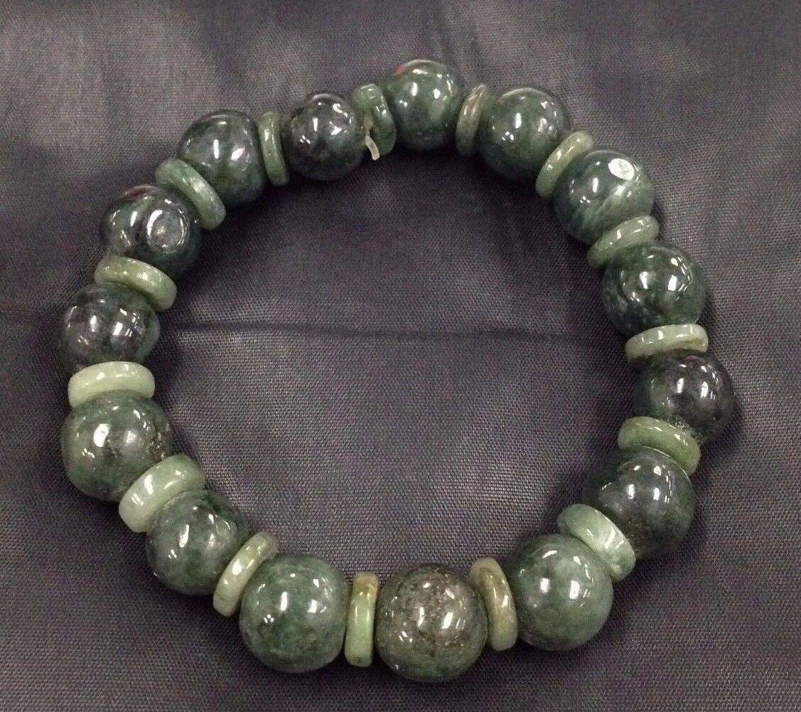 Jade Bracelet Beads: TIBETAN LUCKY SUCCESS BRACELET THAI AMULET BEADS STONE