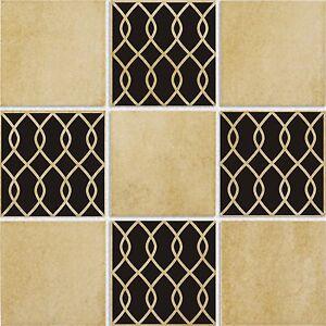 details about tile tattoo d45 vinyl wall kitchen bath decor sticker