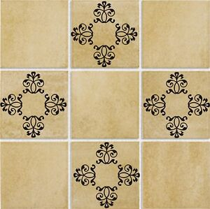 details about tile tattoo decor vinyl wall kitchen bathroom decal 4