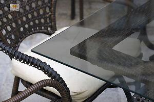 tischplatte aus parsol grau glas 8mm tisch graue glasplatte zuschnitt ma ebay. Black Bedroom Furniture Sets. Home Design Ideas