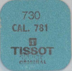 TISSOT-CAL-781-1-2451-HEBELSCHEIBE-ROLLER-PART-No-730-NOS