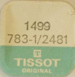 TISSOT-CAL-783-1-2481-RAD-FUR-WECHSLER-PART-No-1499-NOS