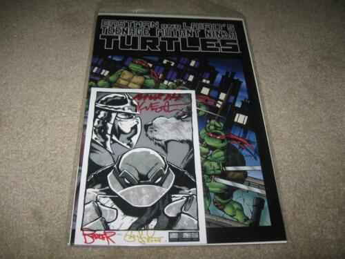 TMNT #1 2009 w/ bookplate Signed by Eastman & Laird (plus Berger and Murphy) in Collectibles, Autographs, Celebrities | eBay