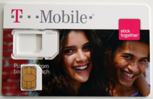 TMobile 4G Micros Sim Card MicroSim for iPhone 4 Unactivated T-MOBILE SIM in Cell Phones & Accessories, Phone Cards & SIM Cards, SIM Cards | eBay