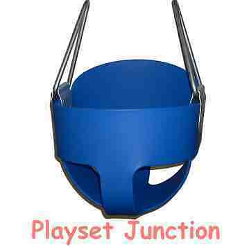 TODDLER SWING SEAT - BLUE FULL BUCKET SWING SET BABY INFANT PLAYSET PLAYGROUND in Toys & Hobbies, Outdoor Toys & Structures, Swings, Slides & Gyms | eBay