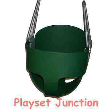 TODDLER SWING SEAT - GREEN FULL BUCKET SWING SET BABY INFANT SWINGS PLAYGROUND in Toys & Hobbies, Outdoor Toys & Structures, Swings, Slides & Gyms | eBay