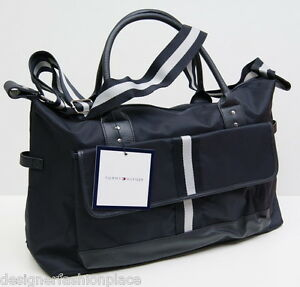 tommy hilfiger bag sporttasche reisetasche crossover tasche weekender shopper ebay. Black Bedroom Furniture Sets. Home Design Ideas