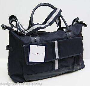 tommy hilfiger bag sporttasche reisetasche crossover tasche weekender shopper ebay. Black Bedroom Furniture Sets. Home Design Ideas