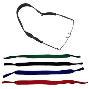 TOP-NEOPREN-Sportband-Brillenband-Brillenkordel-schwarz-3-Farben-NEU
