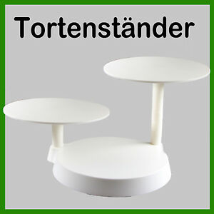 tortenst nder etagere 3 st ckig hochzeitstorte deko gestell ausstecher fondant ebay. Black Bedroom Furniture Sets. Home Design Ideas