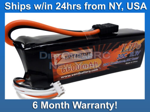 TRA2857 11.1V 6600mAh 3S 30C LiPo Battery Pack Traxxas Slash Stampede4x4 Rustler in Toys & Hobbies, Radio Control & Control Line, RC Engines, Parts & Accs | eBay