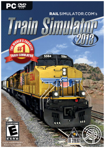 TRAIN SIMULATOR 2013 PC WIN 8/7/VISTA/XP SIM GAME NEW SEALED BOX (RAILWORKS 4) in Computers/Tablets & Networking, Other | eBay
