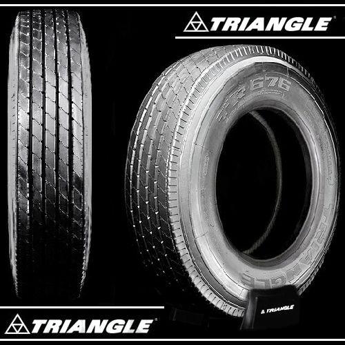 Triangle TR676 295 75R22 5 Low Pro Semi Truck Trailer Tires 11R