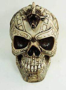 Skull with Dragon Tattoo