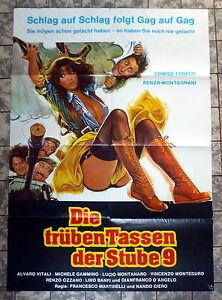 TRUBEN-TASSEN-DER-STUBE-9-A1-Filmposter-German-1-Sheet-1979-Edwige-Fenech