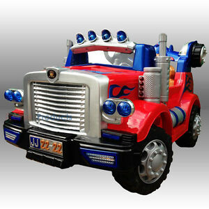 Truck Kids Ride On Cars Electric Childrens 12v Battery