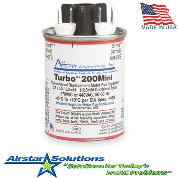 Turbo Universal Capacitor