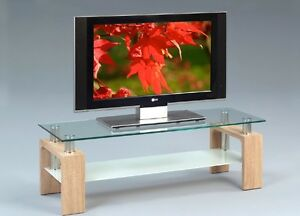 tv bank eiche fernsehtisch lowboard f r flatscreen. Black Bedroom Furniture Sets. Home Design Ideas