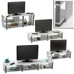 tv bank initial wei tv schrank phonom bel hifi rack tv regal bank fernseh tisch ebay. Black Bedroom Furniture Sets. Home Design Ideas