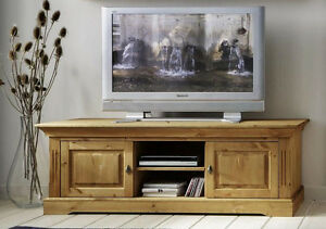 tv lowboard fernseh kommode schrank tv m bel kiefer massiv. Black Bedroom Furniture Sets. Home Design Ideas