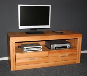 tv lowboard kommode fernseh schrank m bel kernbuche massiv. Black Bedroom Furniture Sets. Home Design Ideas
