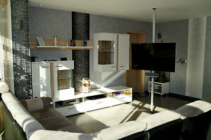 tv s ule boden decken stange tv standfuss mit halterung. Black Bedroom Furniture Sets. Home Design Ideas