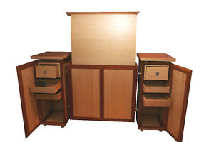 tv schrank liftsystem vollmassiv board lowboard rack m bel. Black Bedroom Furniture Sets. Home Design Ideas