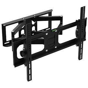 TV-Wandhalterung-LCD-LED-Plasma-schwenkbar-neigbar-Wandhalter-26-60-Zoll-NEU