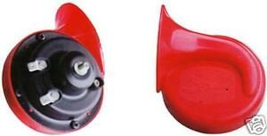 TWIN TONE UPGRADE SNAIL STYLE AIR HORNS HORN BMW 1, 3, 5, 6, 7 SERIES