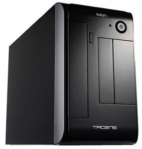 Tacens-Ixion-Mini-ITX-Gehaeuse-mit-300-Watt-SFX-Netzteil-in-Bright-Black-NEU